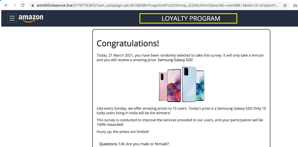 Amazon Loyalty Program