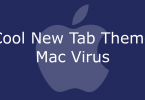 cool new tab theme