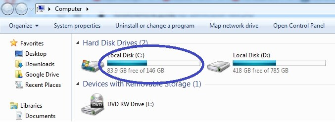 Hdd Space