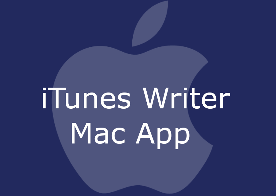 iTunes Writer Mac