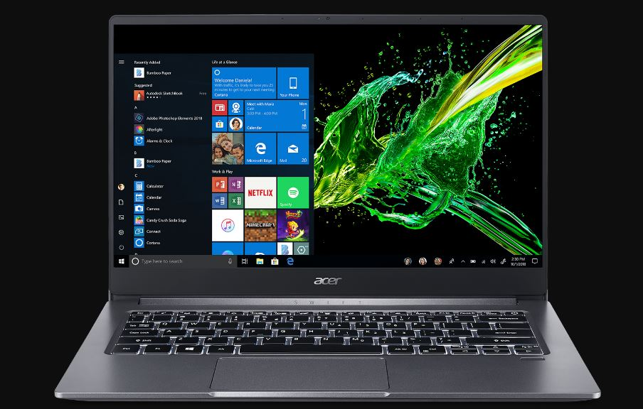 Acer Swift 3 (Ryzen 7) Laptop Review – Power and Value
