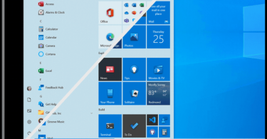 New Windows 10 Start Menu beta