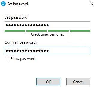 Safein Cloud Master Password