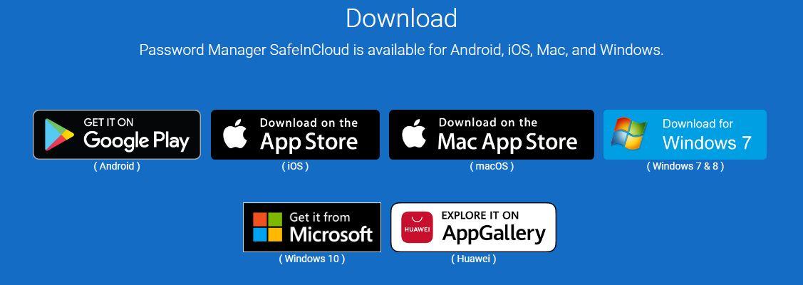 Safeincloud Platforms
