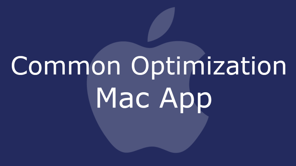 Common Optimization