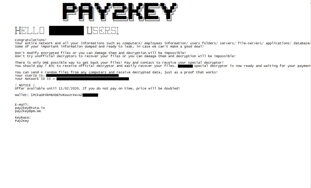 Pay2Key
