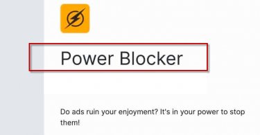 Power Blocker