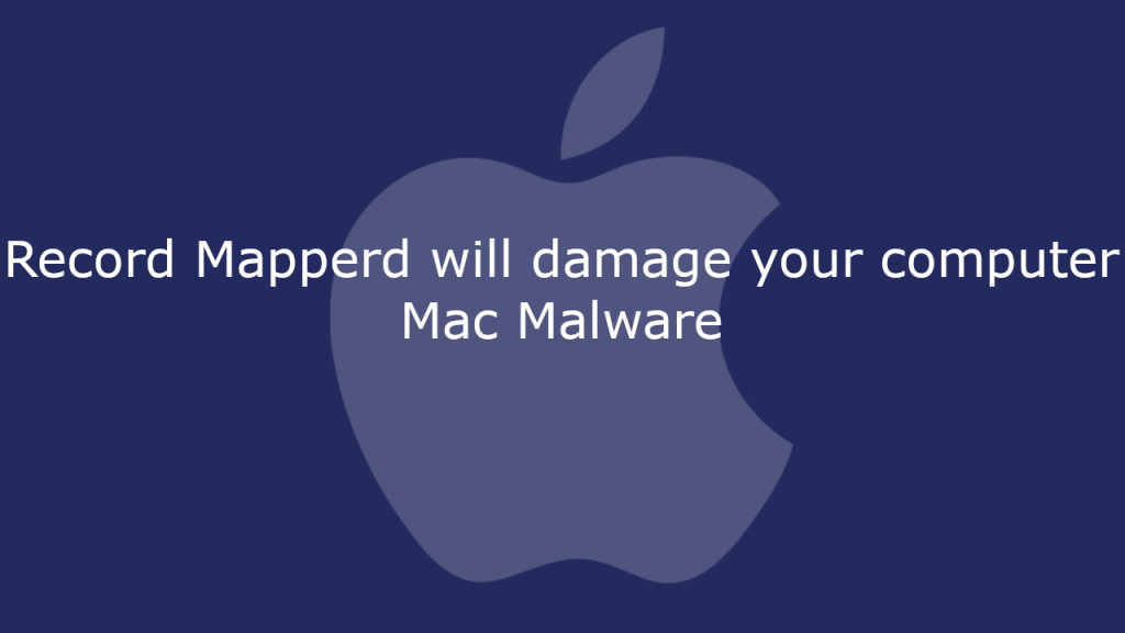 Record Mapperd will damage your computer