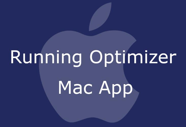 Running Optimizer
