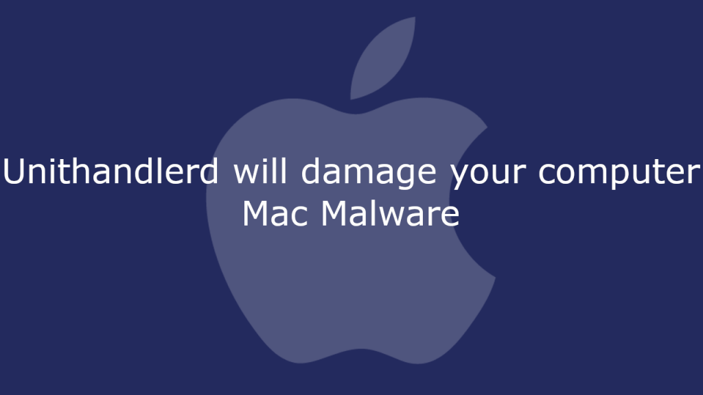 Unithandlerd will damage your computer