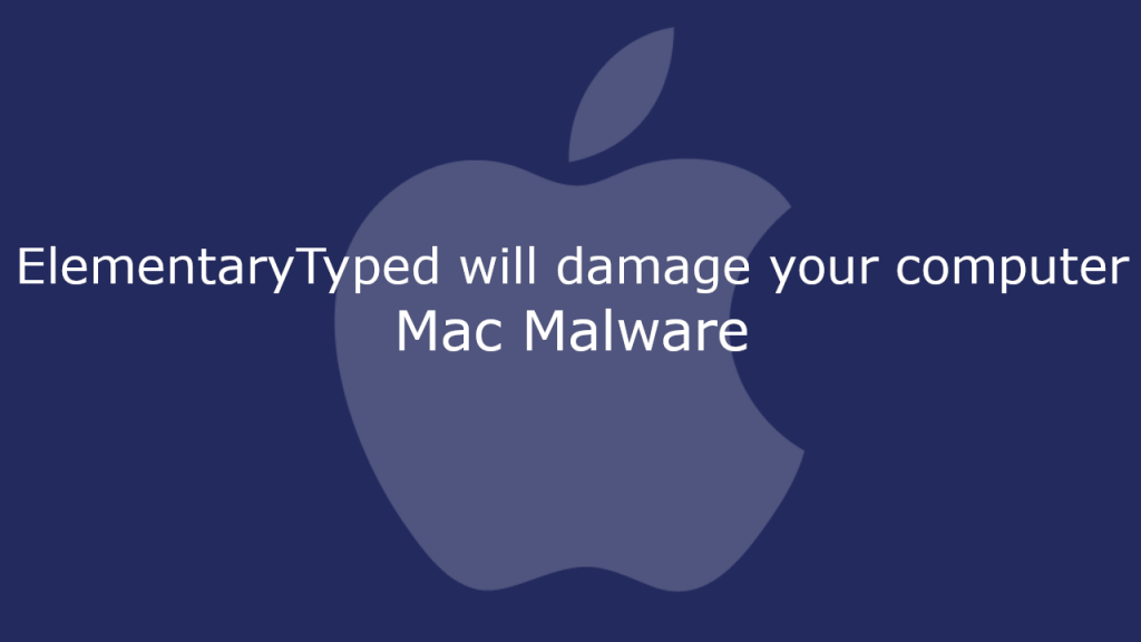 ElementaryTyped will damage your computer