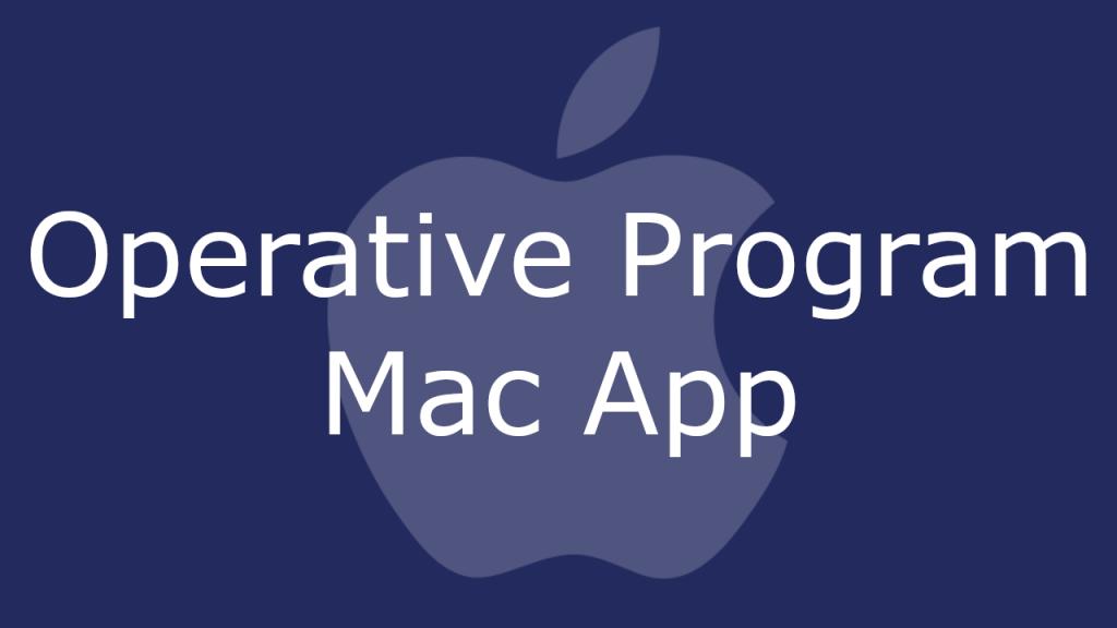 Operative Program