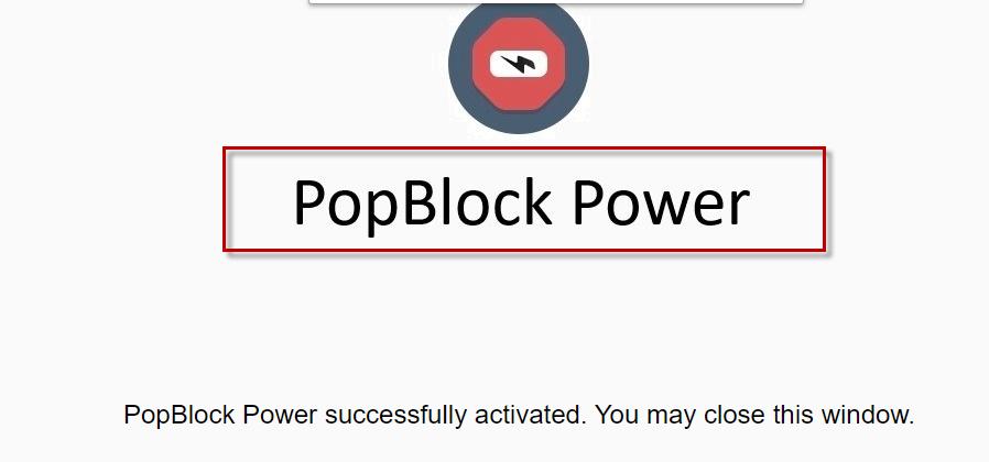 Pop Block Power
