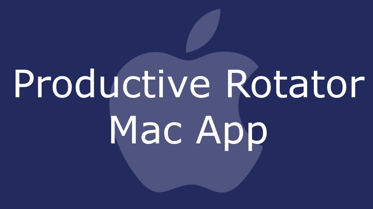 Productive Rotator