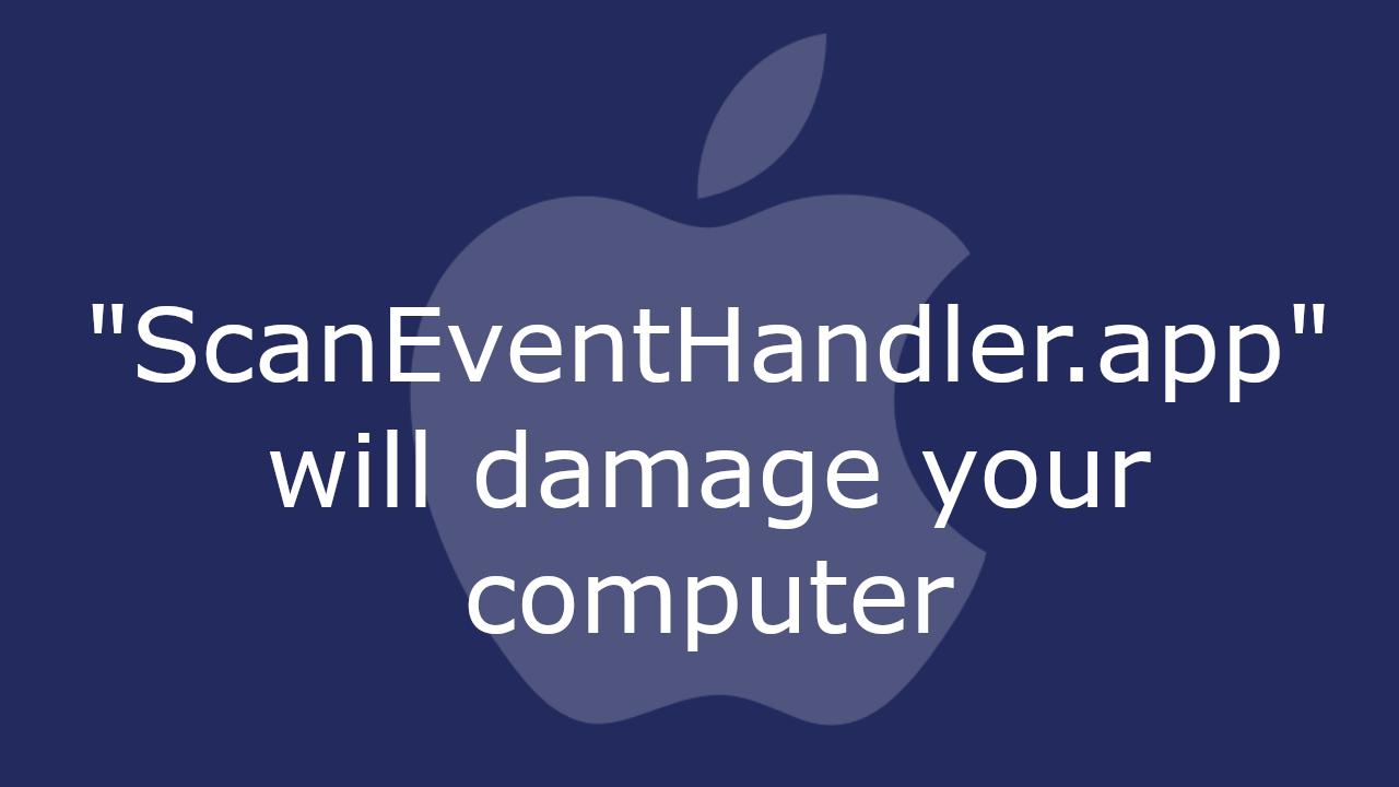 Scan Event Handler