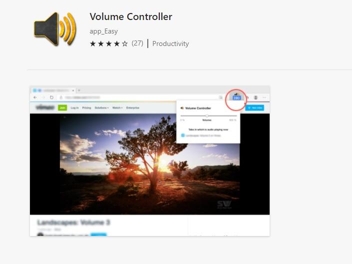 Volume Controller