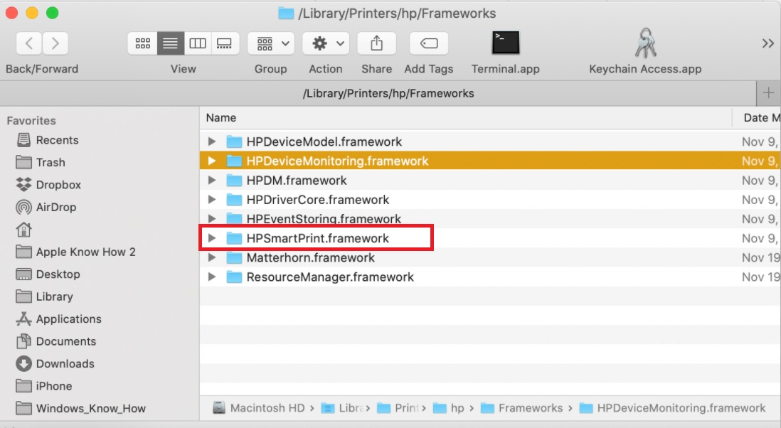 HPSmartPrint.framework