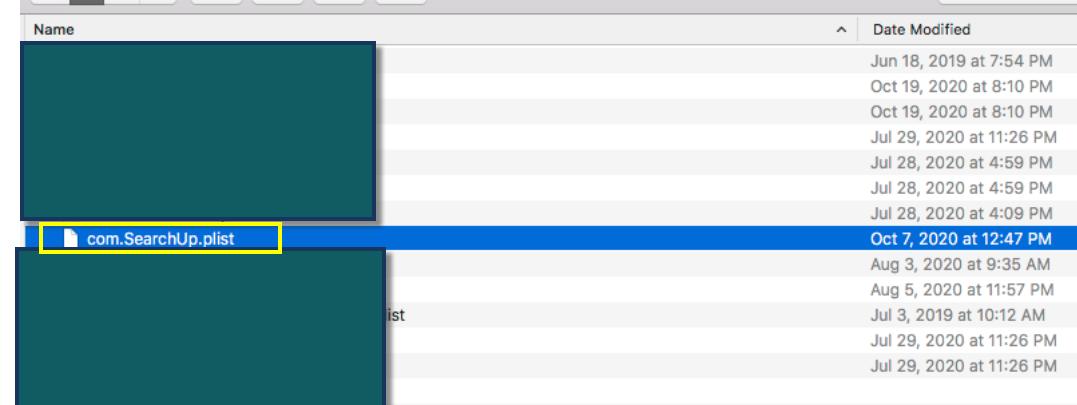 SearchUp Mac