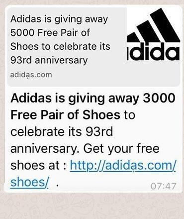 Adidas virus