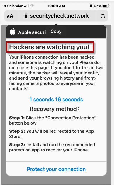 Hackers are watching you