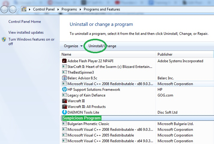 How to uninstall PC Accelerate Pro