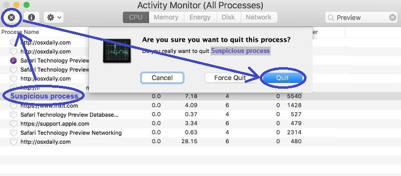 This image has an empty alt attribute; its file name is mac-activity-monitor-quit-process.jpg