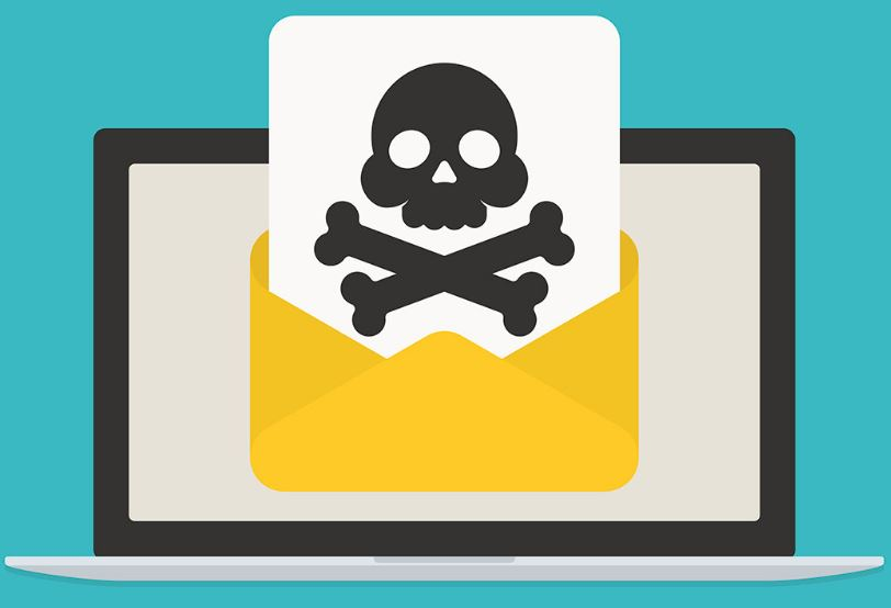 Malware in an email