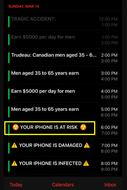 your iphone is at risk