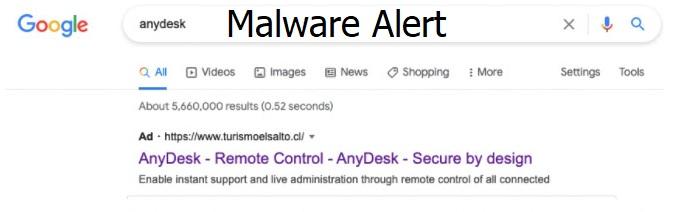 AnyDesk Malware