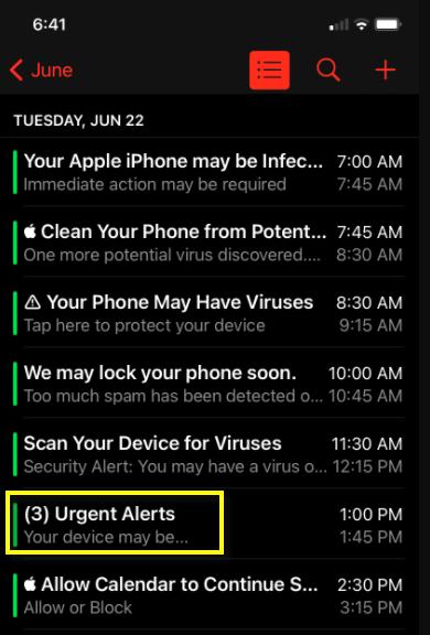 Urgent Alerts